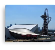 London Olympic buildings, Stratford July 2012 Canvas Print