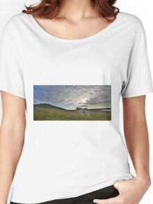 Cornwall: Lone Pony Women's Relaxed Fit T-Shirt