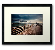Silence before the storm  Framed Print