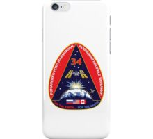 Expedition 34 Mission Patch iPhone Case/Skin