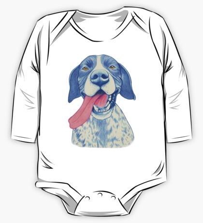 Jola #01 - German Short-Haired Pointer One Piece - Long Sleeve