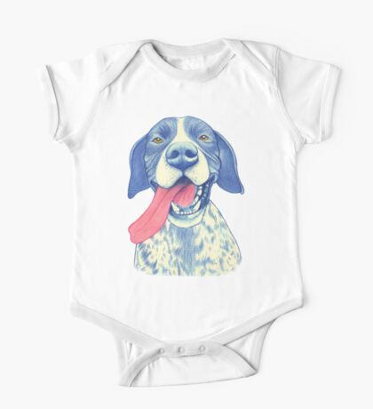 Jola #01 - German Short-Haired Pointer One Piece - Short Sleeve