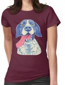 Jola #01 - German Short-Haired Pointer Womens Fitted T-Shirt