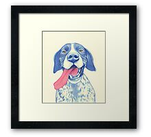 Jola #01 - German Short-Haired Pointer Framed Print