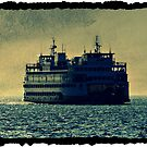 Washington State Ferry by AngieBanta
