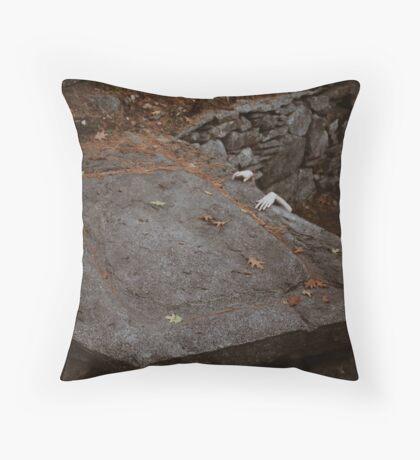 Escaping Sacrifce Throw Pillow
