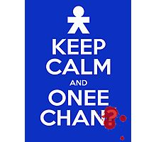 Keep Calm and Onee-Chan? Photographic Print