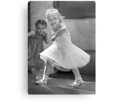 Kid with Attitude Metal Print