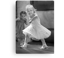 Kid with Attitude Canvas Print