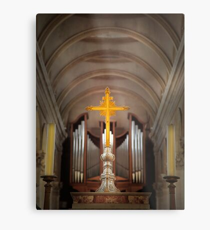 Basilica of Notre-Dame  Metal Print