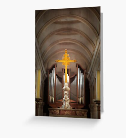 Basilica of Notre-Dame  Greeting Card