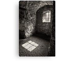 Shadow of a Window Canvas Print