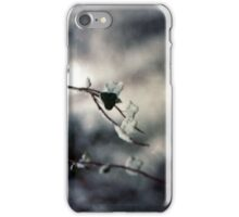 Snowy Leaf Iphone case iPhone Case/Skin