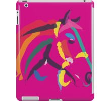 Horse- Colour me strong iPad Case/Skin