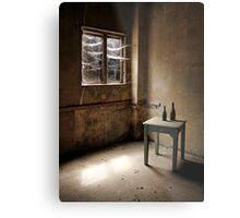 Cobwebs at the Window Metal Print