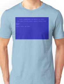 Commodore 64 Screen Unisex T-Shirt