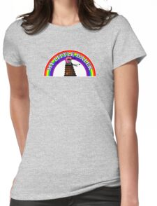 My Little Dalek Womens Fitted T-Shirt