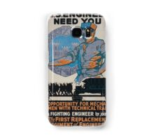 The US Engineers need you 002 Samsung Galaxy Case/Skin