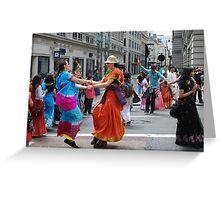 London Rath Yatra 2012 Greeting Card