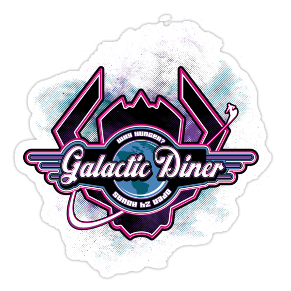 Galactic Diner by Corrose