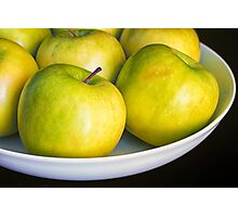 Green Apples Photographic Print