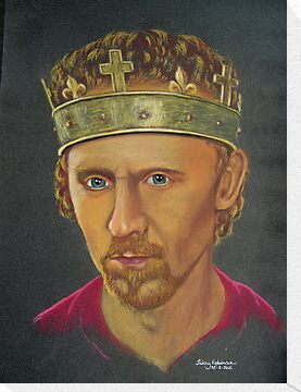 Tom Hiddleston as Henry V by Hilary Robinson