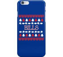 Buffalo Bills Ugly Christmas Costume. iPhone Case/Skin