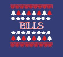 Buffalo Bills Ugly Christmas Costume. Unisex T-Shirt