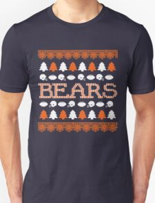 Chicago Bears Ugly Christmas Costume. T-Shirt