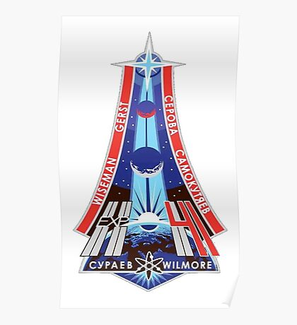 Expedition 41 Mission Patch Poster