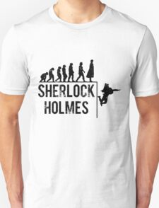 Sherlock Holmes the evolution of man Unisex T-Shirt