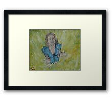 """Rain Catcher""  by Carter L. Shepard Framed Print"