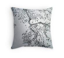 Elm Branch Throw Pillow