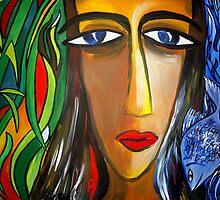Woman and Nature by Shakhenabat Kasana