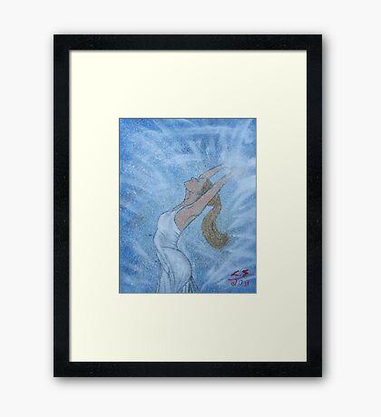 """""""Rejoicing""""  by Carter L. Shepard Framed Print"""