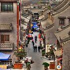 Xian Art Alley  by Susan Dost