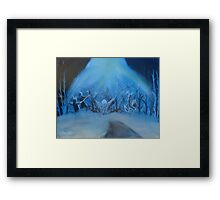 """Rescue""  by Carter L. Shepard Framed Print"