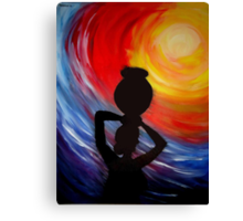 Woman with Pitcher Canvas Print