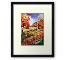 Beloved Autumn Framed Print