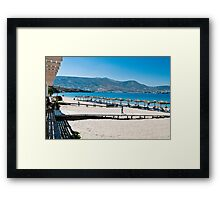 PAROS - MARTSELO BEACH ..(1) Framed Print