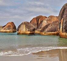 Elephant Rocks. Elephant Cove. WA. by John Sharp