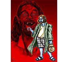 The Vampire Lebowski Photographic Print