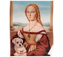 Lady with Giulietta Poster