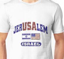 JerUSAlem: Israel Supports Israel Unisex T-Shirt