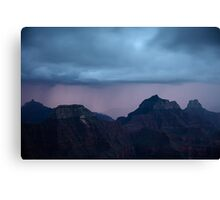 Grand Canyon Illumination Canvas Print