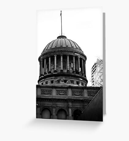 Supreme Court Dome Greeting Card