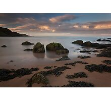 hackley bay sunset Photographic Print
