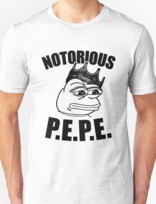 Notorious P.E.P.E. (Sad Frog) T-Shirt