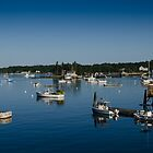 Boothbay Harbor by Anthony M. Davis