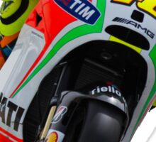 Valentino Rossi in Jerez 2012 Sticker